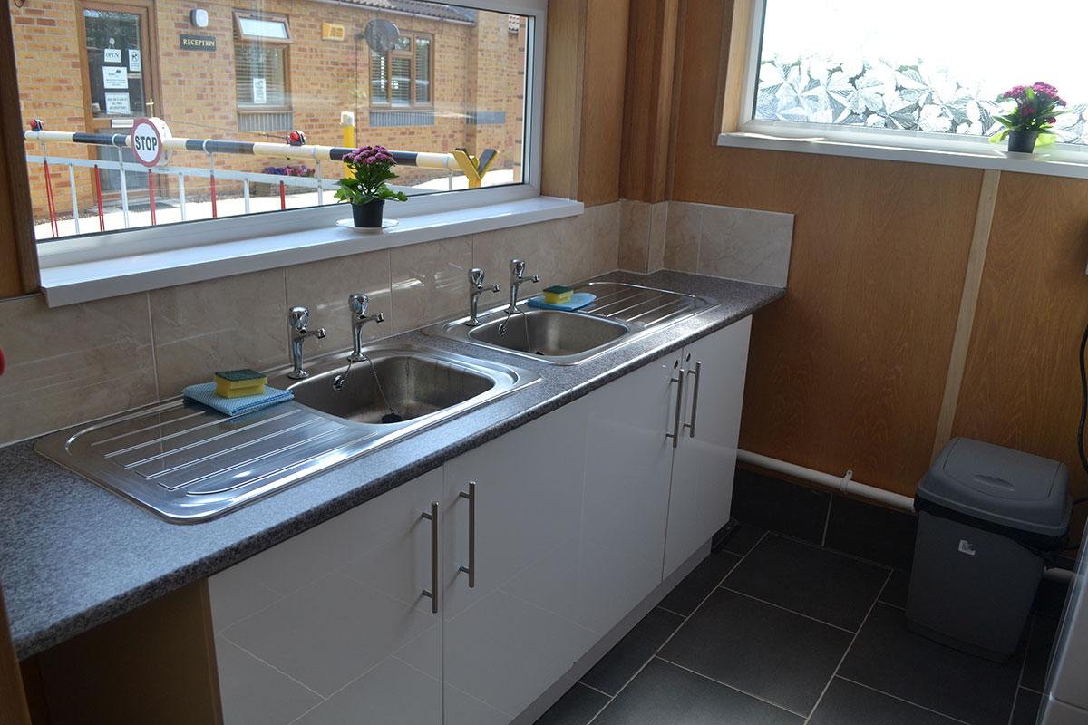 Clean Washing Facilities